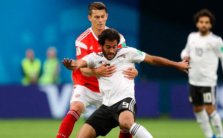 Una muestra de la fricción con la que se vive el encuentro / Foto: FIFA