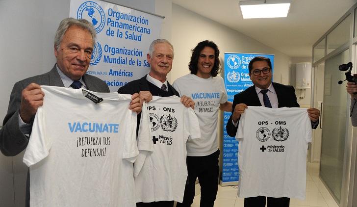 Campaña de vacunación antigripal suministró más 360.000 dosis. Foto: Presidencia