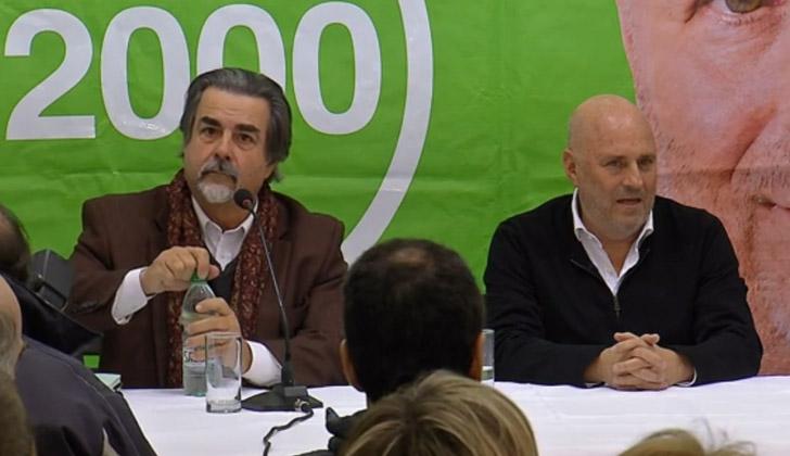 Gustavo Zubía y Edgardo Novick.