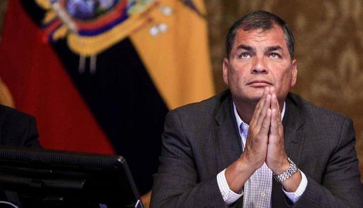Justicia de Ecuador ordenó la detención de Rafael Correa