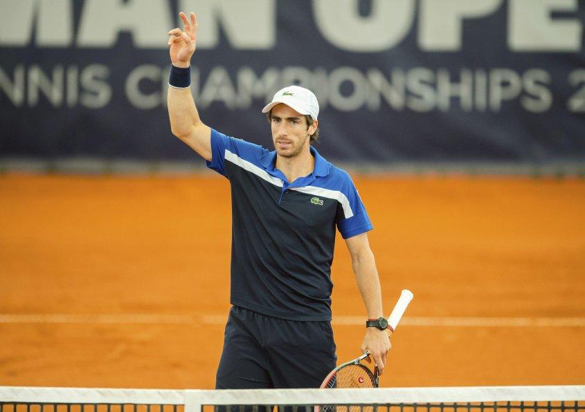 Pablo Cuevas perdió en el ATP de Hamburgo