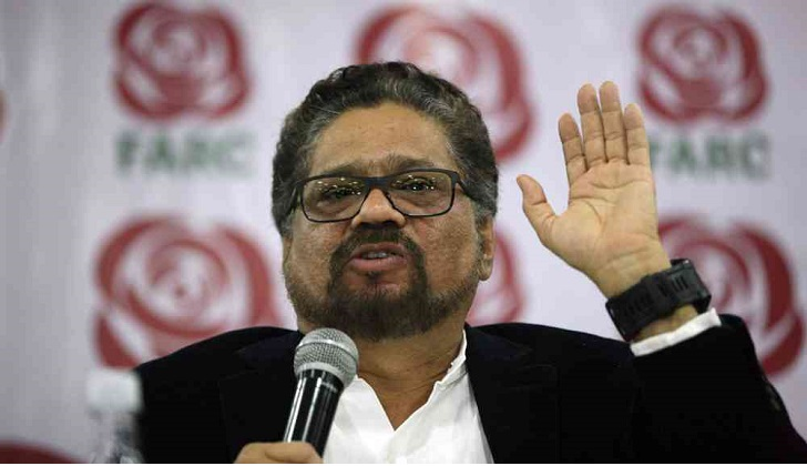 Uno de los líderes de la FARC no se posesionará como senador en Colombia