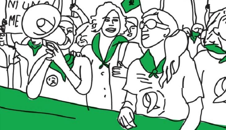 Apoyo y movilización internacional por el #AbortoLegalYA para Argentina