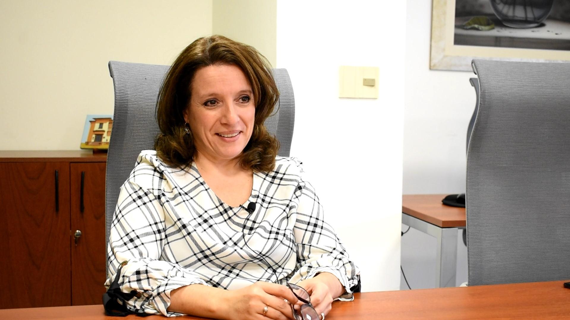 Angélica Vitale, diractora de Comunicación Institucional de ANEP. Foto: Carlos Loría