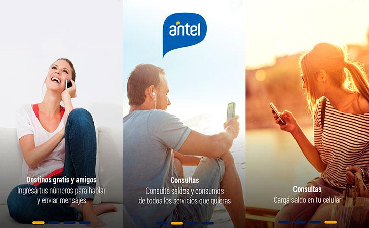 Captura de la aplicación MiAntel