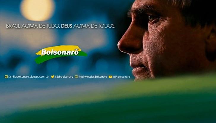 El ultraderechista Jair Bolsonaro oficializó su candidatura en Brasil .