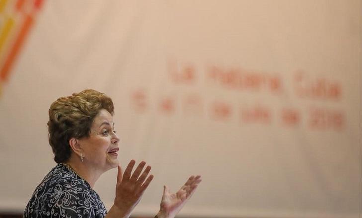 "Dilma Rousseff: ""Lula es la esperanza frente a los golpistas"". Foto: Ricardo Stuckert"