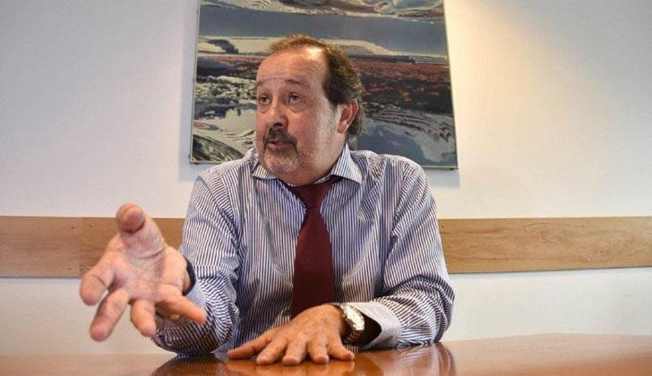 El secretario general de la Secretaría Nacional contra el Lavado de Activos y Financiamiento del Terrorismo de la Presidencia de la República, Daniel Espinosa