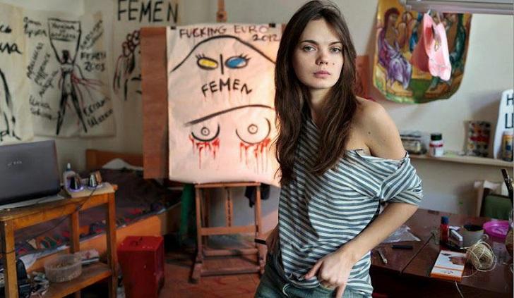 Muere a los 31 años Oksana Shachko, cofundadora del movimiento Femen .