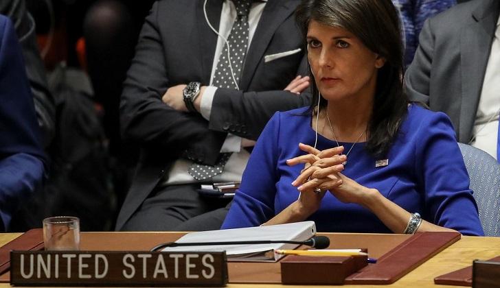 """Haley: """"EE.UU. no confiará ni en Rusia ni en Putin. Nunca serán sus amigos"""""""