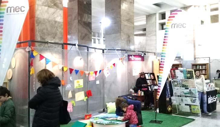 Espacio MEC en Ideas+. Foto LARED21.