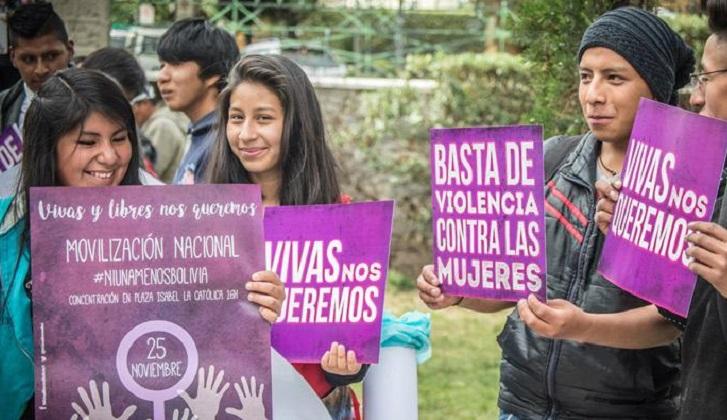 """La mayoría de los jóvenes de 8 países latinoamericanos ve """"normal"""" la violencia machista,"""