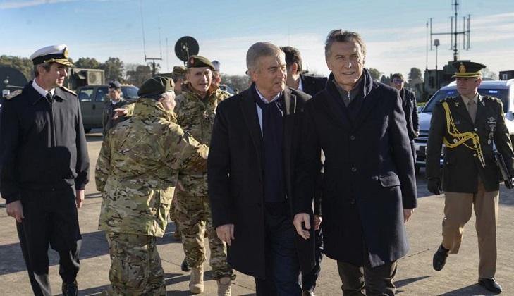 Macri pone en marcha la reforma de las Fuerzas Armadas en Argentina