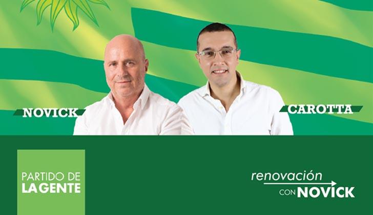 Edgardo Novick  y Fernando Carotta.
