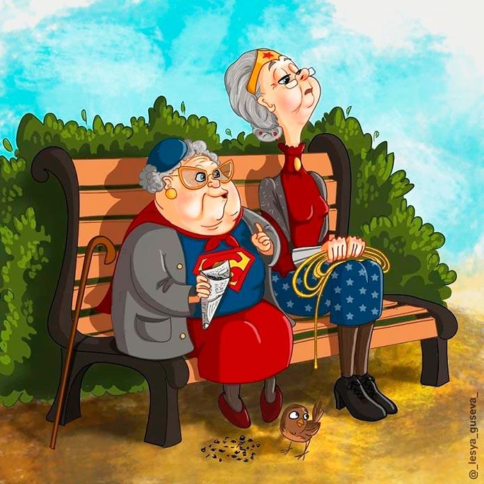 Supergirl y la mujer maravilla