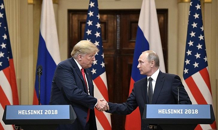 """Putin consideró la cumbre con Trump """"muy exitosa y útil"""". Foto: Kremlin"""