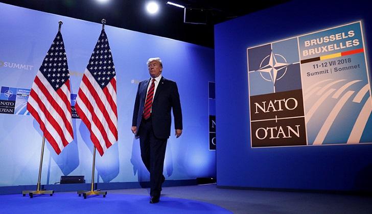 Trump celebra su junte con Putin