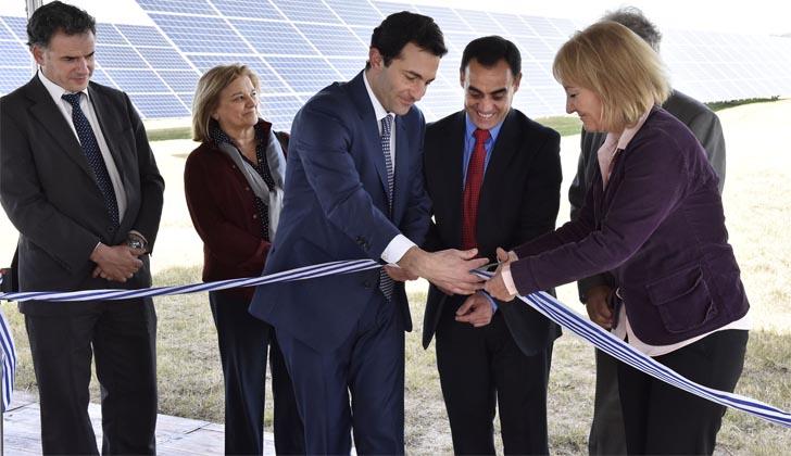 Inauguración Planta solar fotovoltaica.