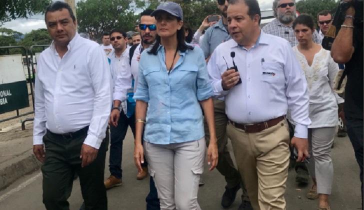 """Embajadora de EE.UU. ante la ONU: """"Maduro debe irse"""""""