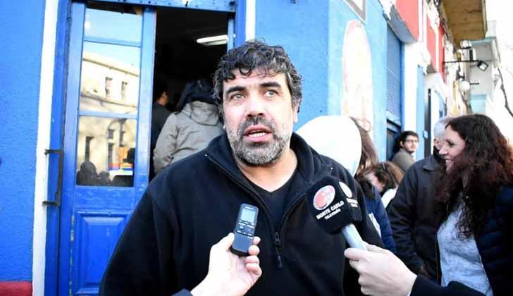 Secretario general del SUNCA, Óscar Andrade. Foto: LARED21.