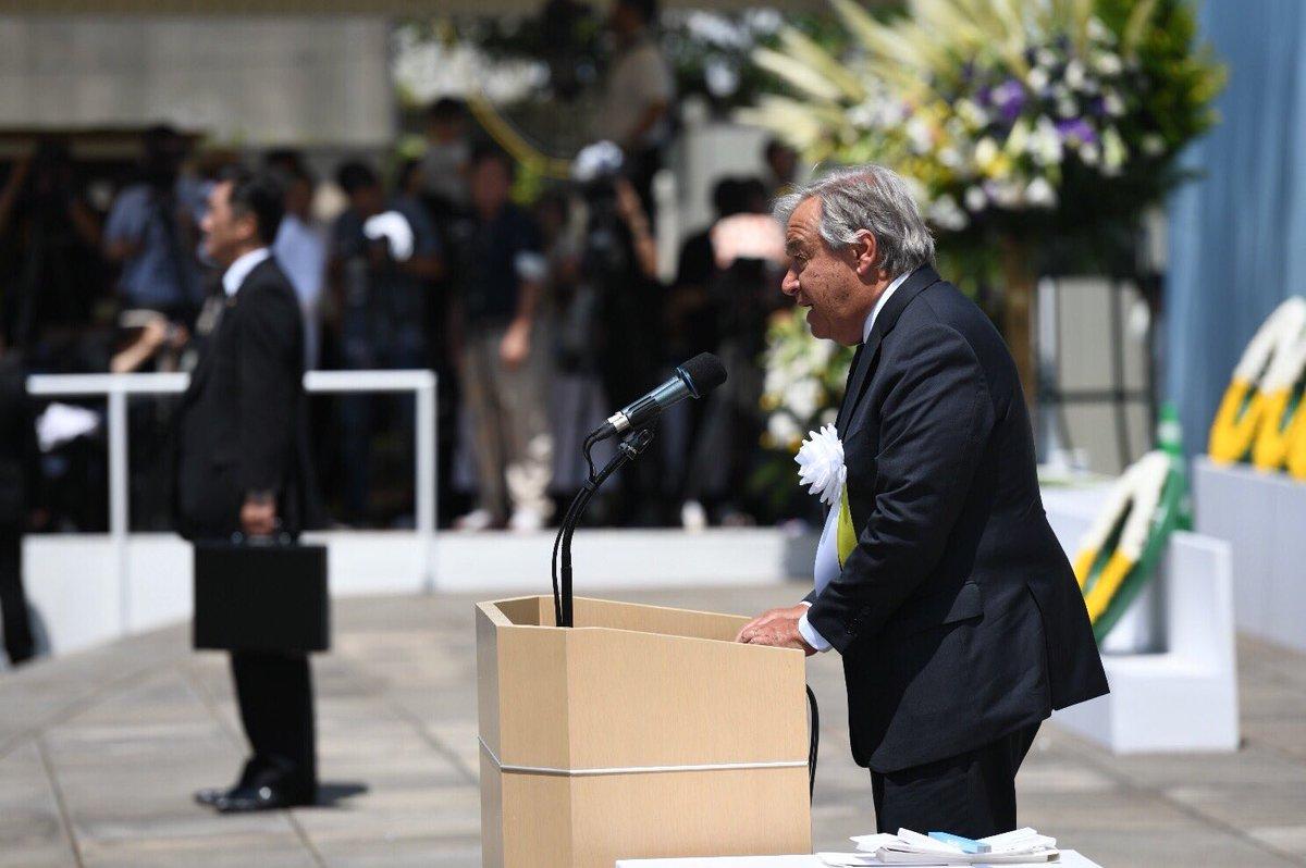 Antonio Guterres, secretario general de la ONU. Foto: Twitter/AntonioGuterres