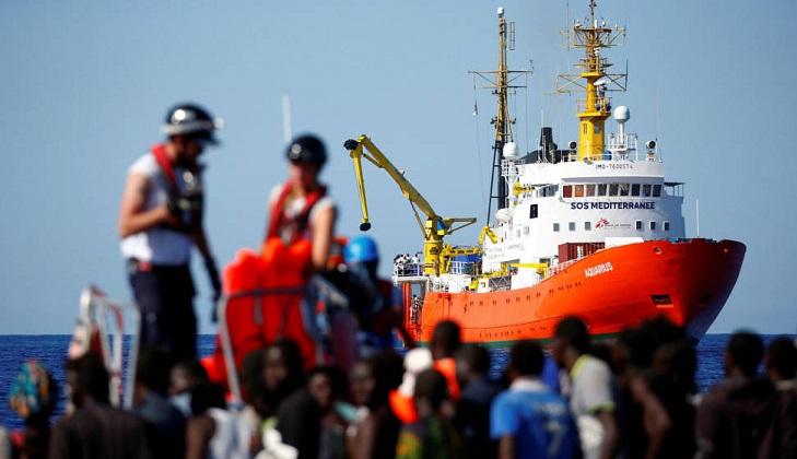 Malta recibirá al Aquarius y repartirá a 5 países europeos los 141 migrantes a bordo