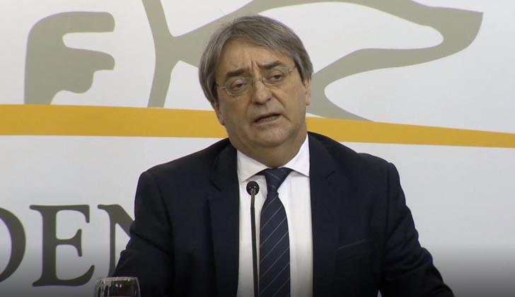 Director nacional del Deporte, Fernando Cáceres.