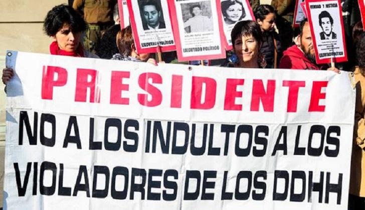CIDH criticó la liberación de exrepresores en Chile