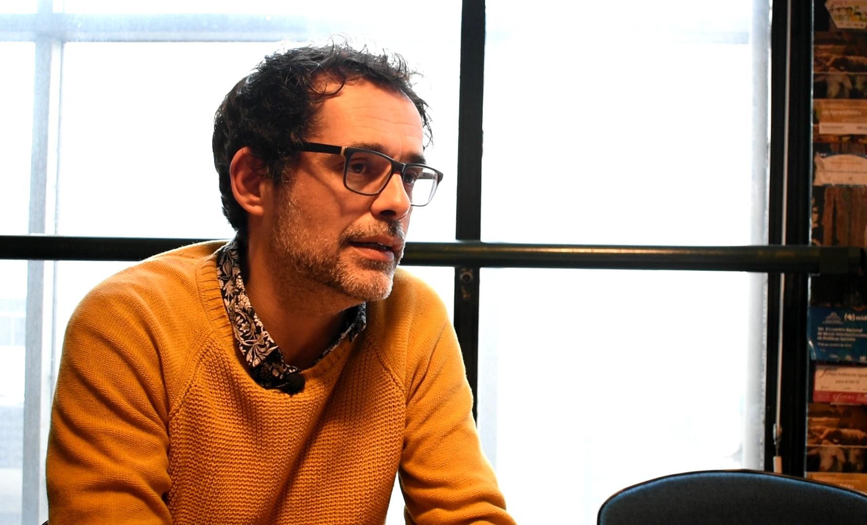 Federico Graña, director nacional Promoción Sociocultural del MIDES. Foto: Carlos Loría - LARED21