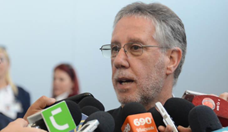 Subsecretario del Ministerio del Interior, Jorge Vázquez. Foto: Presidencia de la República.