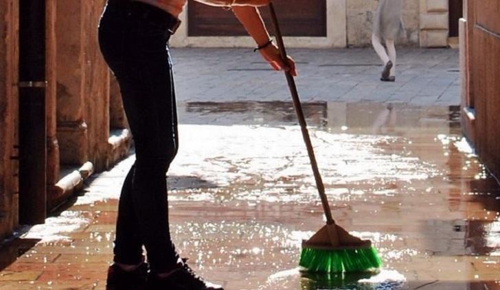 El ejercicio físico, incluyendo la limpieza, es bueno para la salud mental