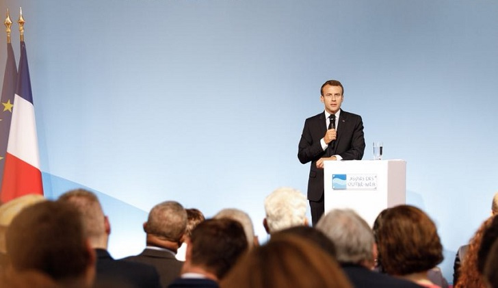 """Macron: """"Europa ya no puede seguir dejando su seguridad sólo en manos de EE.UU."""""""