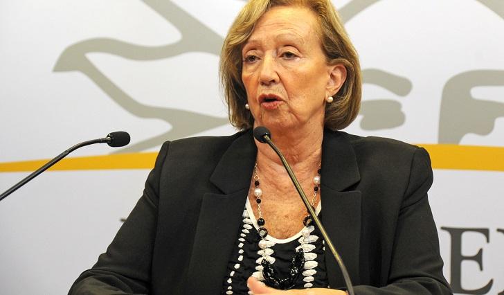 """Muñoz consideró que """"Un solo Uruguay"""" es cada vez más un movimiento político contra el gobierno. Foto: Presidencia"""