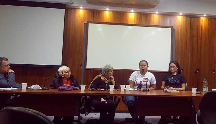 Encuentro Solidario por Nicaragua en la Facultad de Ciencias Sociales.