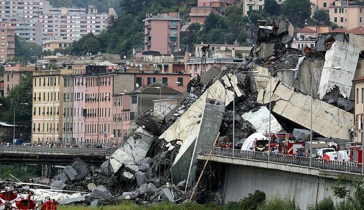 """Fiscal general de Génova: """"El derrumbe del puente no fue una fatalidad, sino un error humano"""""""