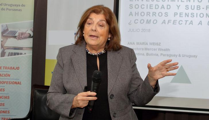 Ana María Weisz, directora de Wealth de MERCER