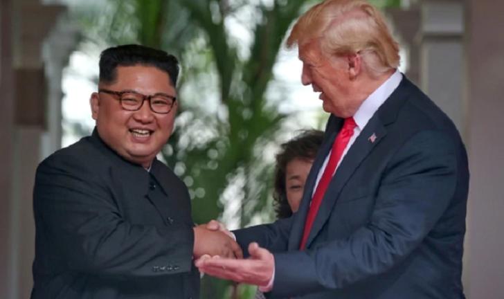 Donald Trump le envió una carta a Kim Jong-un
