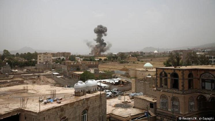 Decenas de muertos en bombardeo saudí contra un autobús con niños en Yemen