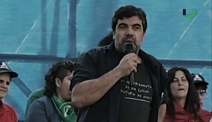Secretario general del SUNCA, Óscar Andrade.