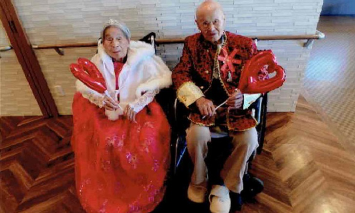 Pareja japonesa es reconocida en el Libro Guinness como el matrimonio más longevo del mundo