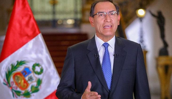 El mandatario de Perú amenazó con disolver el Parlamento