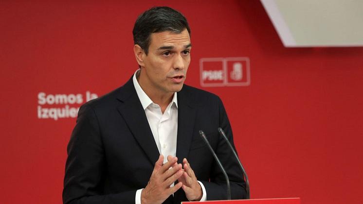 """Sánchez a favor de una votación en Cataluña, pero """"por el autogobierno, no por la independencia"""""""