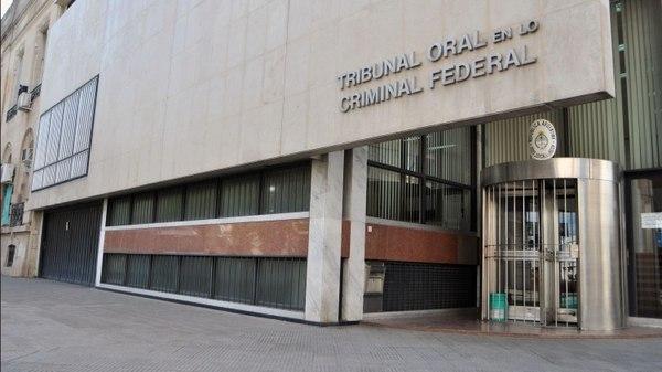 Tribunal Oral en lo Criminal Federal, en Buenos Aires. Foto de archivo