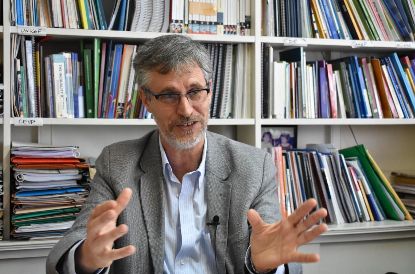 Andrés Peri, Director de la División  de Investigación, Evaluación y Estadística del CODICEN. Foto: Carlos Loría