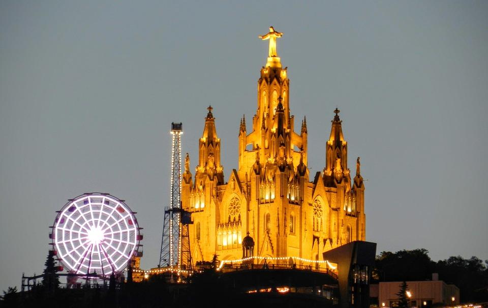 Templo Expiatorio de la Sagrada Familia, en Barcelona. Foto: Pixabay