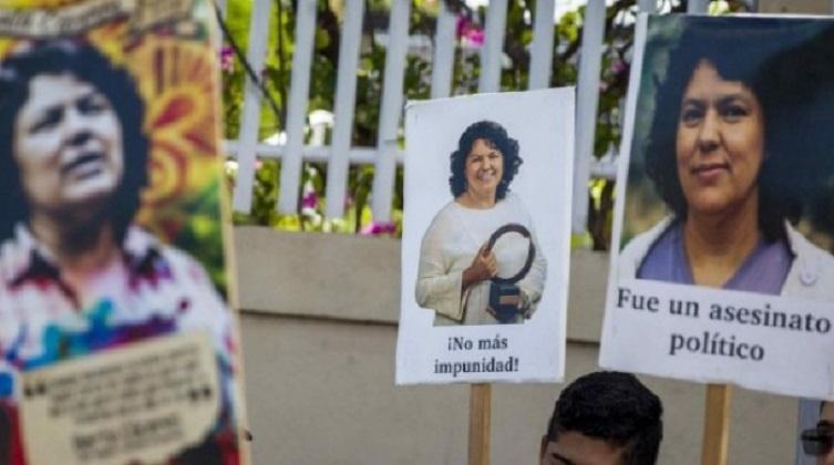 Se suspendió el juicio por el asesinato de Berta Cáceres