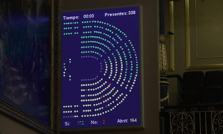 Congreso español aprueba exhumar los restos Franco del Valle de los Caídos.