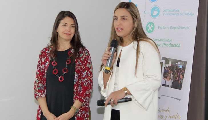 Virginia Fasano  y Leticia Viva.