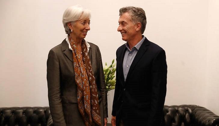 Imputan a Macri y sus ministros por el acuerdo con el FMI.