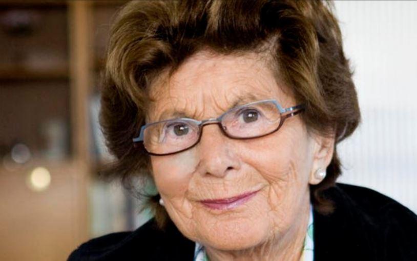 Livia Fränkel, sobreviviente del Holocausto. Foto cortesía de ffo.nu